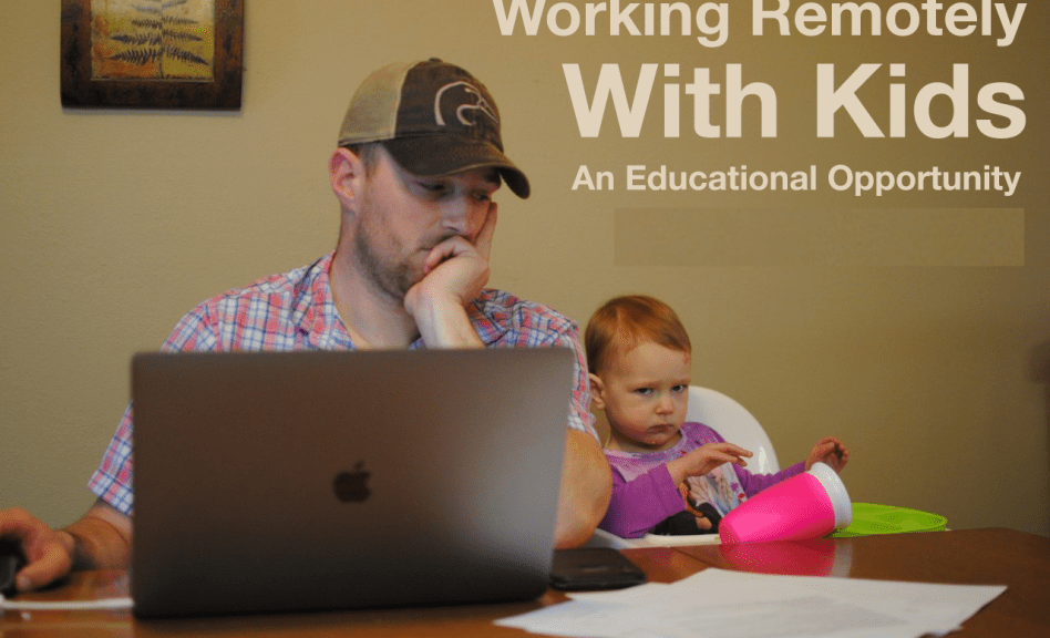 Working Remotely While Entertaining and Educating Your Kids – with Conservation